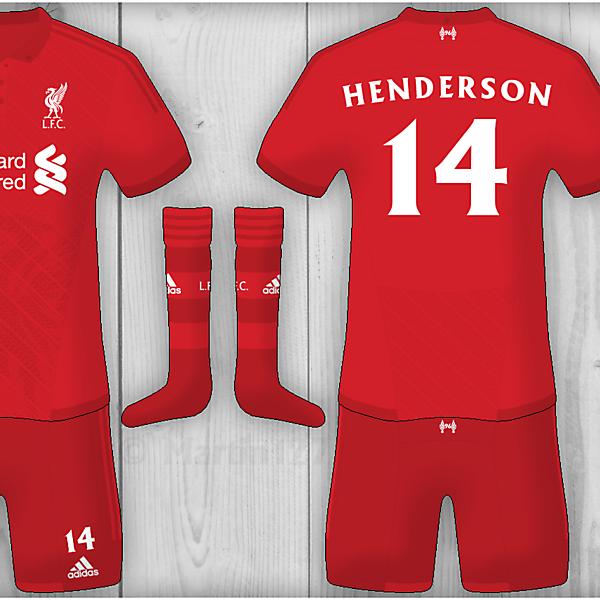 Liverpool Home - Adidas Kit