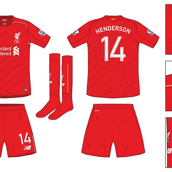 Liverpool Home 2016-17