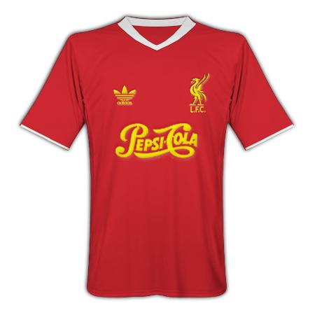Liverpool Adidas Pepsi-Cola (Home)