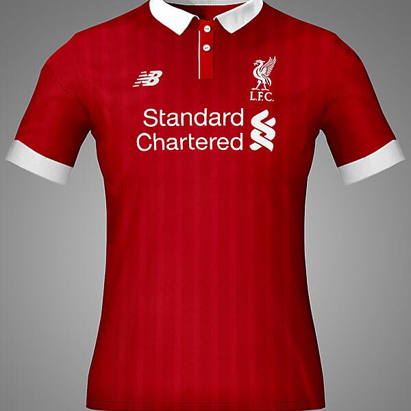 Liverpool Home Kit Concept 16-17