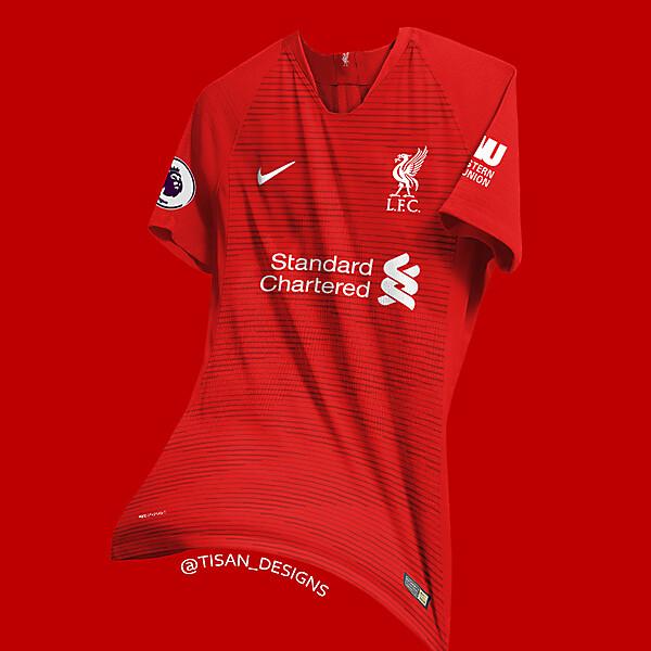 Liverpool Home Kit Concept