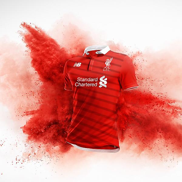 Liverpool Home Kit Design