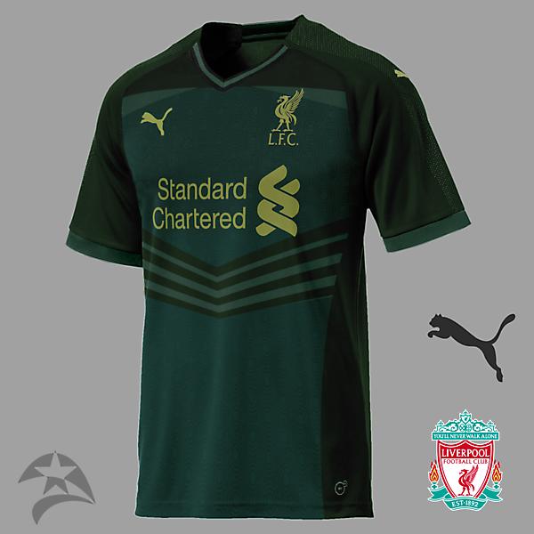 Liverpool Puma third concept