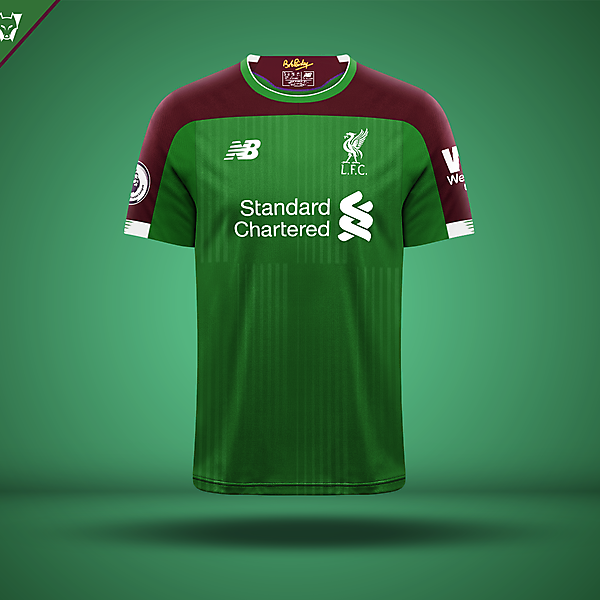 Liverpool third jersey concept