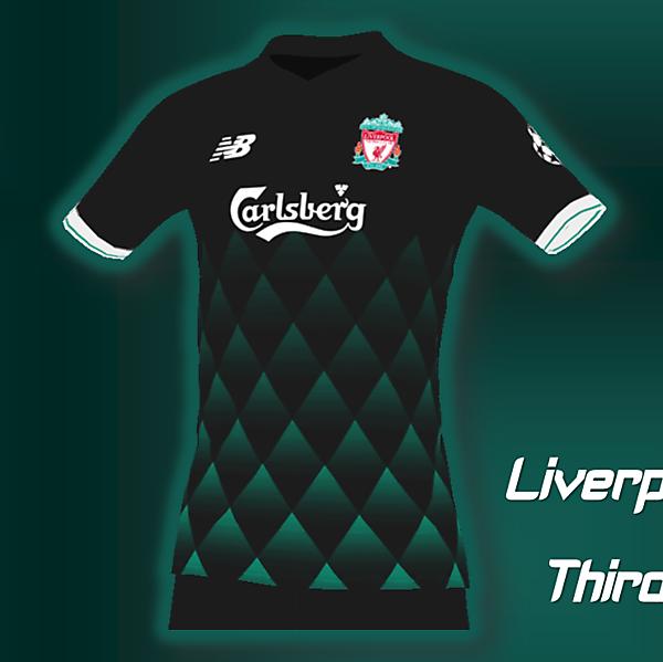 Liverpool Third Kit edition Carlsberg