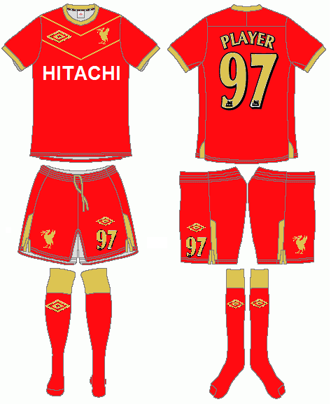 Liverpool Unmbro Home Kit