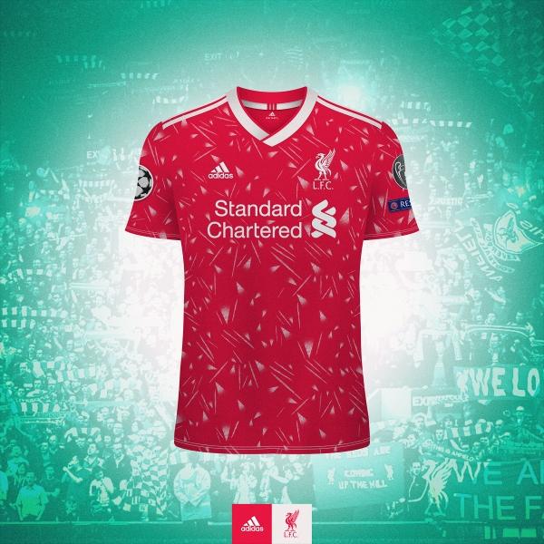 Liverpool x Adidas - home kit