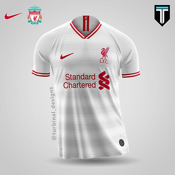 Liverpool x Nike - Away Kit