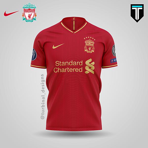 Liverpool x Nike - Home Kit