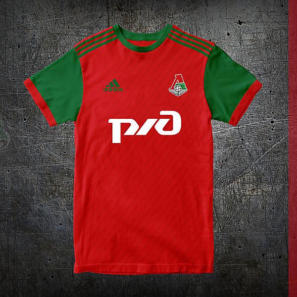 Lokomotiv Moscow Home Shirt