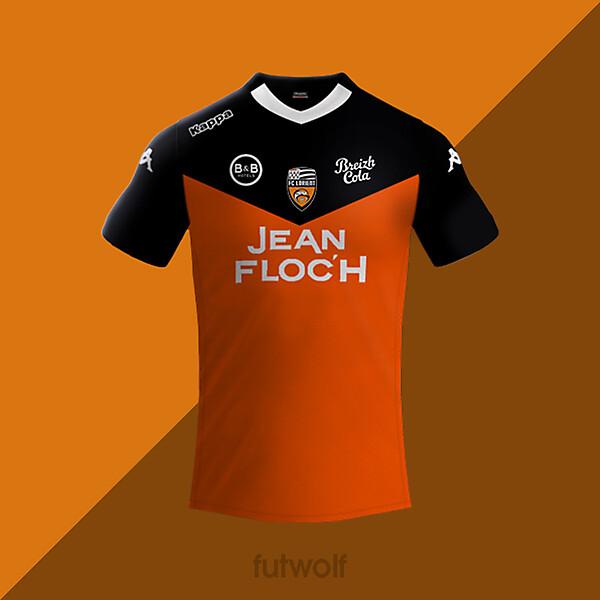 Lorient Home Shirt Concept