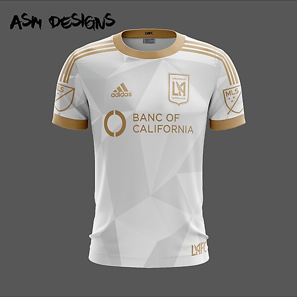 Los Angeles FC Adidas 2018 Away Kit