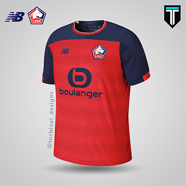 LOSC Lille x New Balance - Home Kit Concept