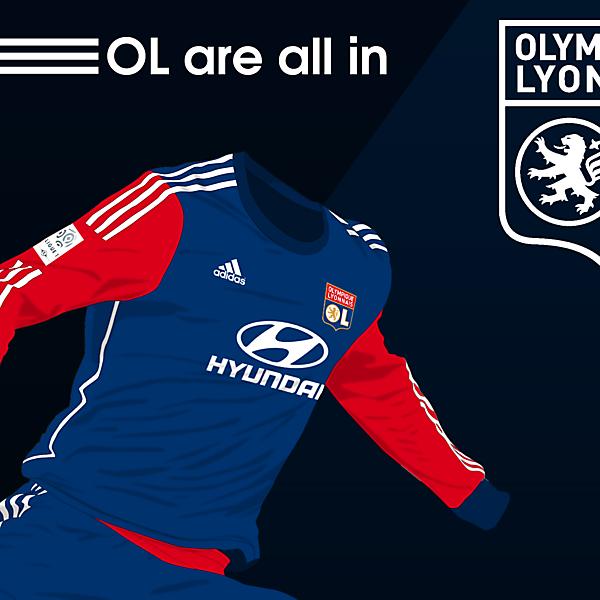 Lyon Away Kit 14/15