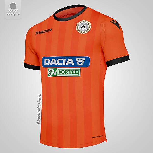 Macron Udinese Away Kit Concept