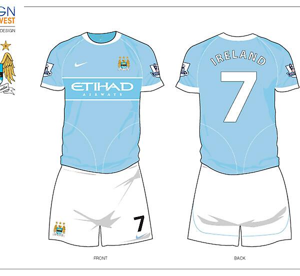 Fantasy Manchester City Home Kit