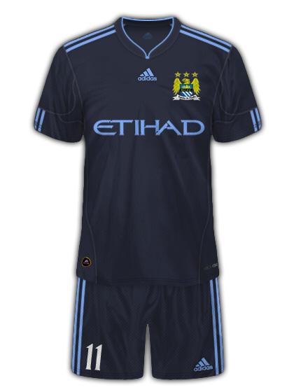Man City Adidas Away Kit