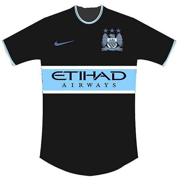 Man City Fantasy Away shirt