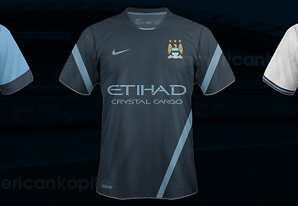 Man City Concept 2013/14 Kits