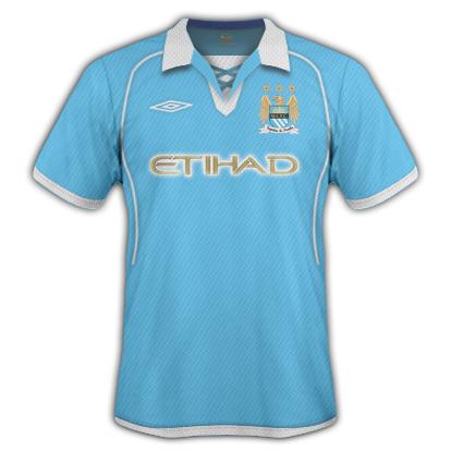 Manchester City Umbro Home