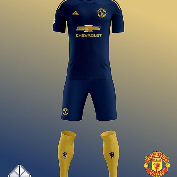 Man United 2018-2019 Third Kit Leaked