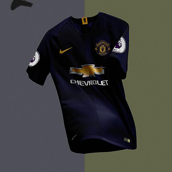 Man United x Nike away