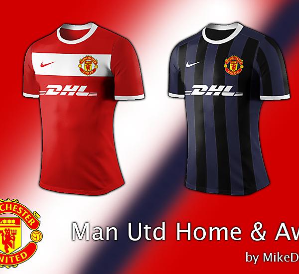 Man Utd home and away.