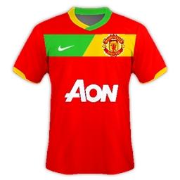Man Utd Home 2012/13