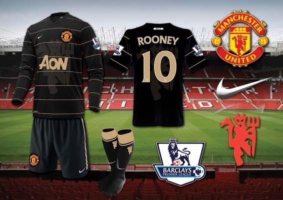 Man Utd Black Away Kit