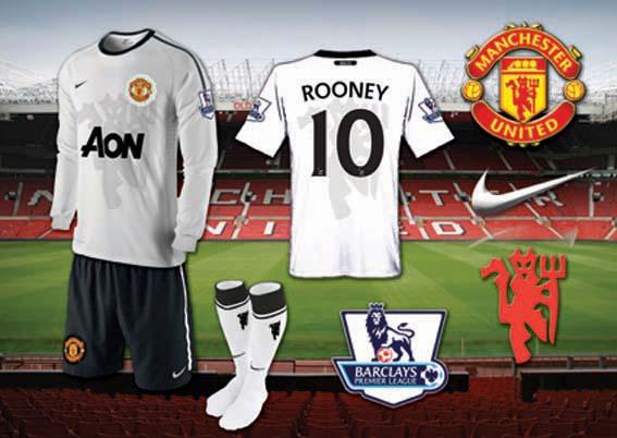 Man Utd White Away Kit