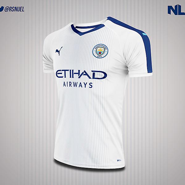 Manchester City - Away Kit Concept