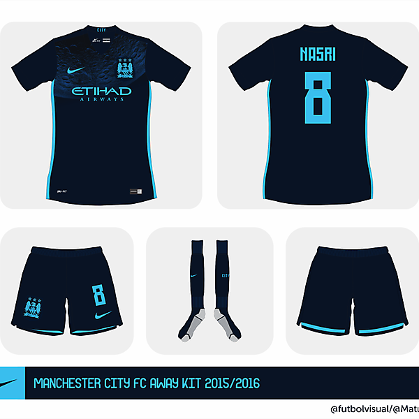 Manchester City 2015/2016 away shirt?
