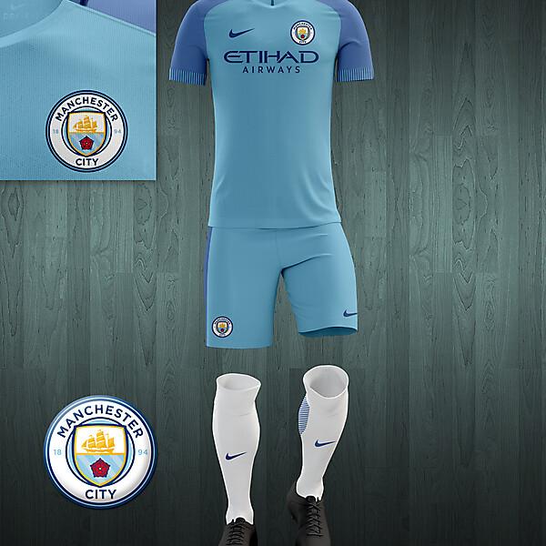 Manchester City 2016-17 home kit concept V2