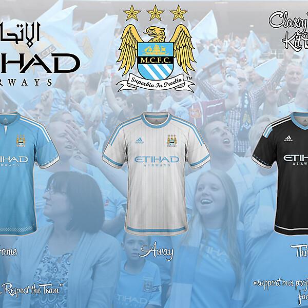 Manchester City Adidas Concept 15/16