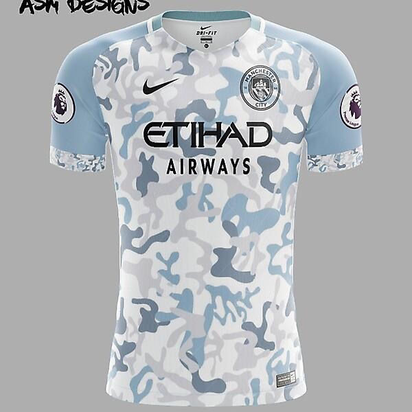 Manchester City F.C. Nike 2018 Alternate Kit
