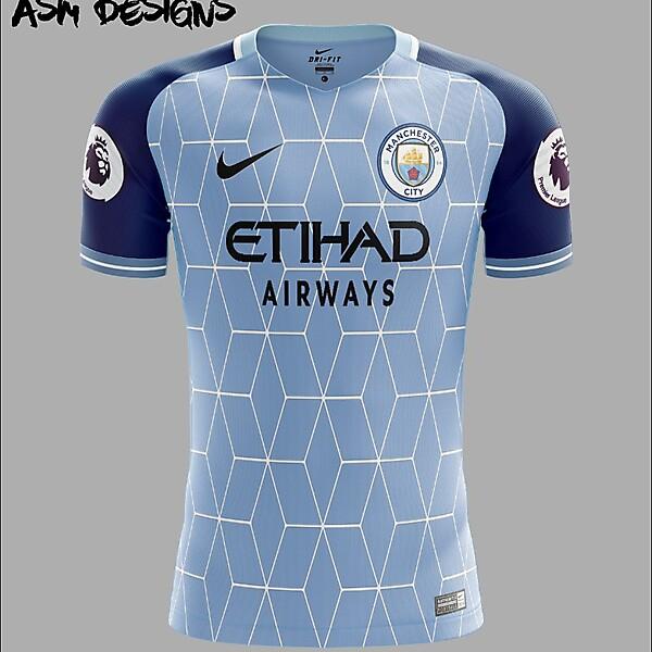 Manchester City F.C. Nike 2018 Home Kit