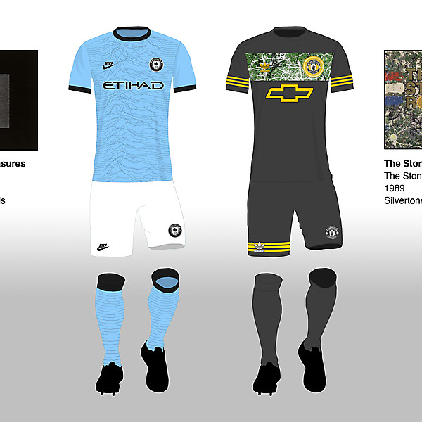 Manchester City Home - Manchester United Away