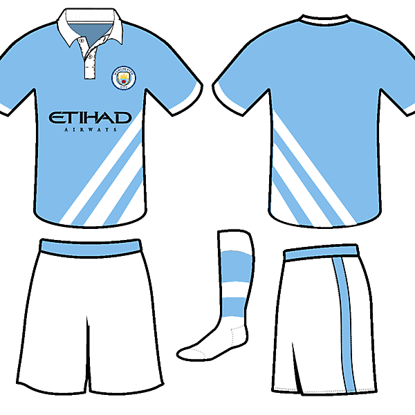Manchester City NEW Home KIT 17-18