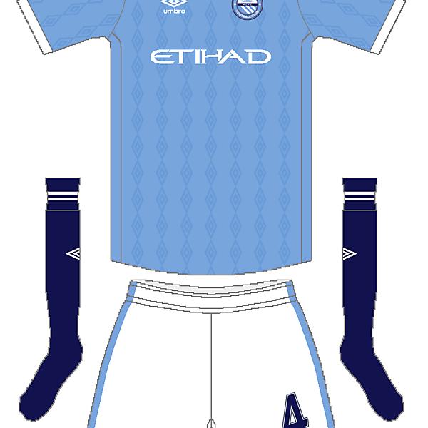 Manchester City Umbro Home Kit