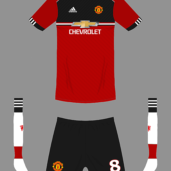 Manchester United 18/19 home kit