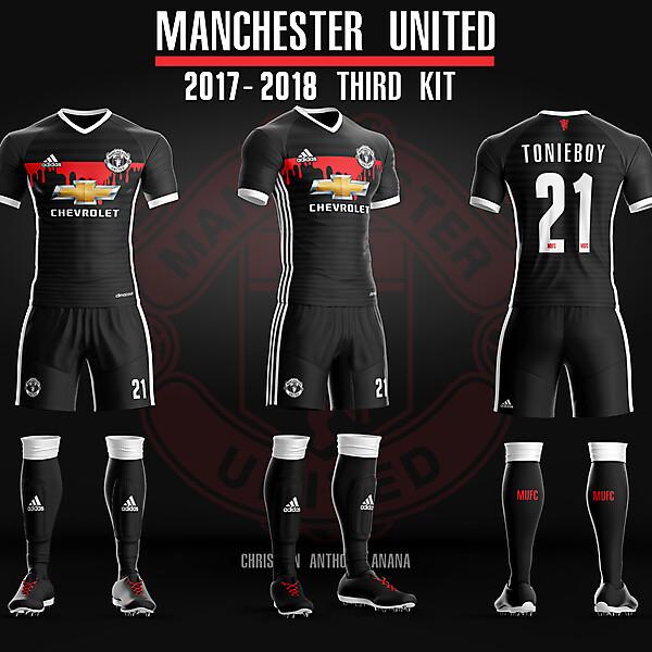 Manchester United Alt Third Kit 17-18