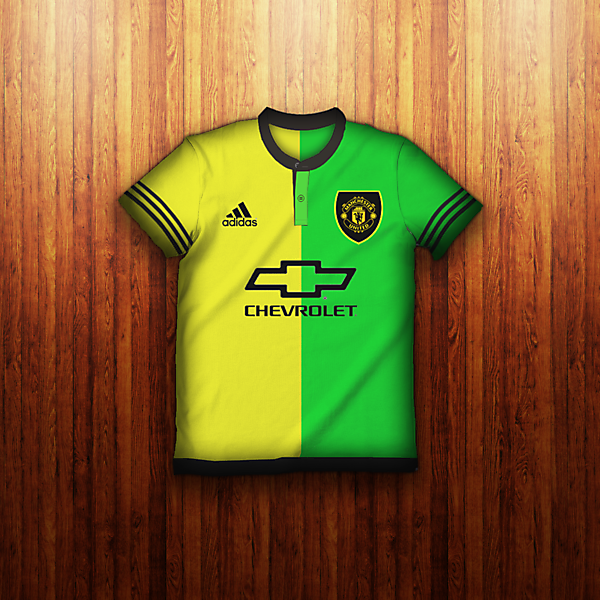 Manchester United Away 15-16