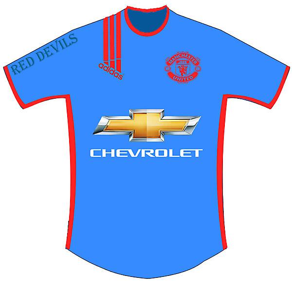 Manchester United Fantasy Third Shirt