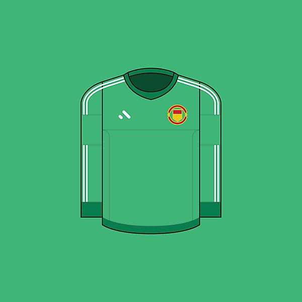 Manchester United FC - Goalkeeper / Minimalist