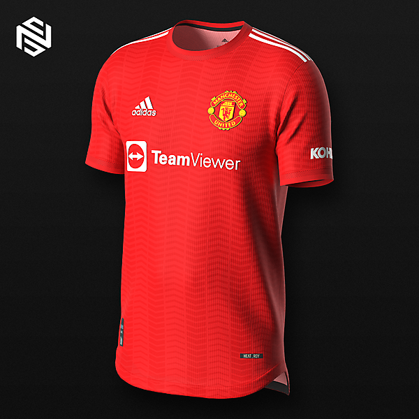 Manchester United FC Home x adidas