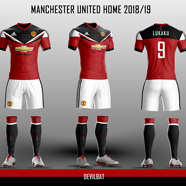 Manchester United Home 2018/19