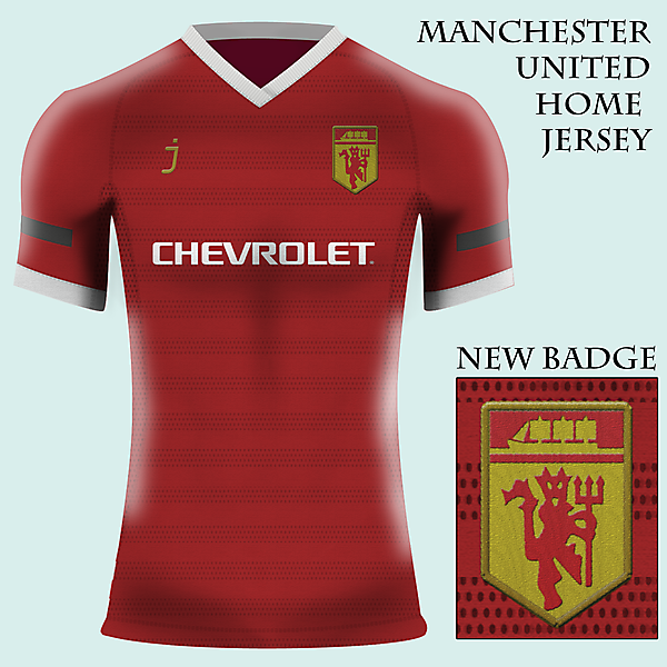 Manchester United home jersery