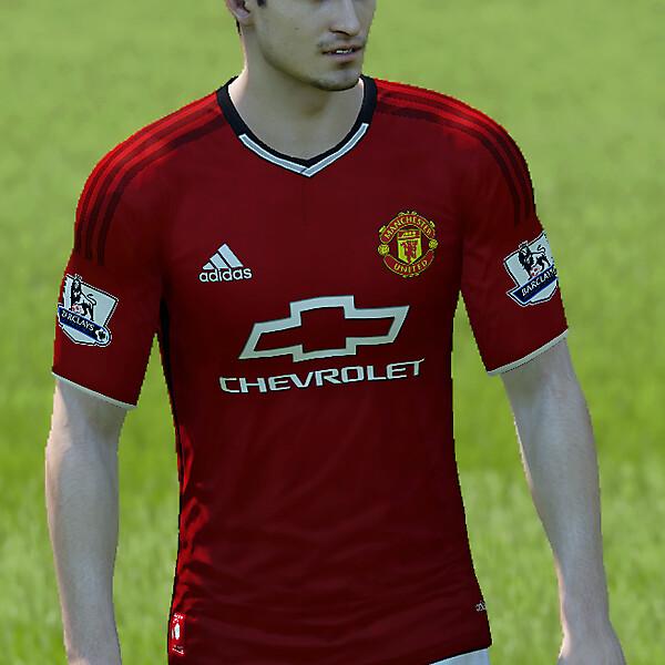 Manchester United Home kit 15/16 fantasy
