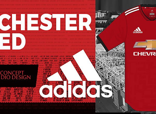 Manchester United Home Kit by Dio Design
