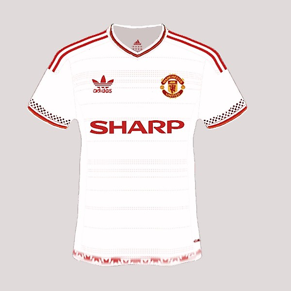 Manchester United retro redesigned